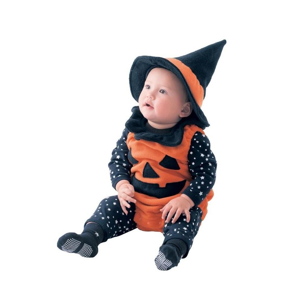 Costumi Halloween Neonati Vendita.Costume Bambino Zucca Halloween Partylook