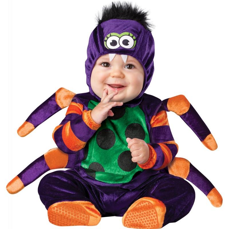 Costume Carnevale Ragno per Bambino Incharacter 0-24 mesi