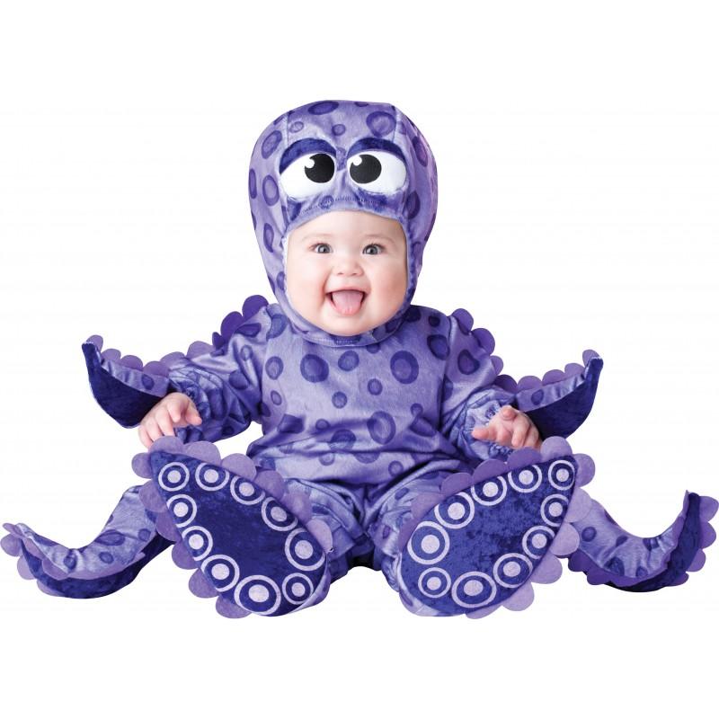 Incharacter Costume de Carnaval Enfant Pieuvre 0-24 mois