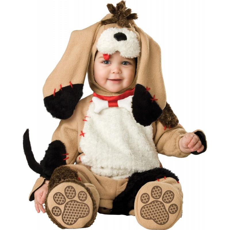 Costume Carnevale Cagnolino per Bambino Incharacter 0-4 anni