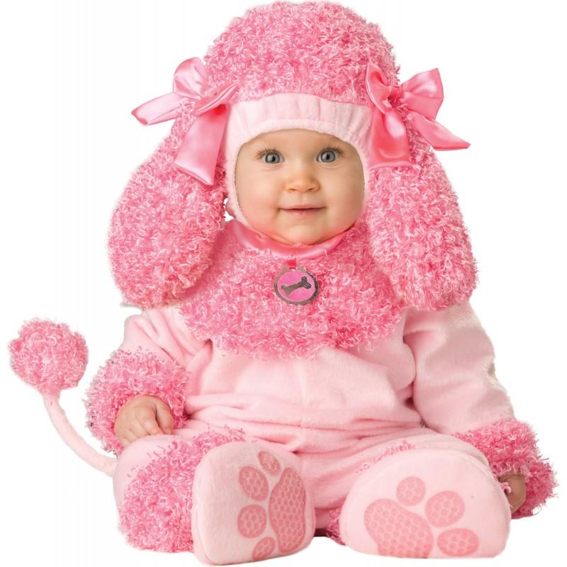 Incharacter Costume de Carnaval Enfant Caniche Précieux 0-4 ans