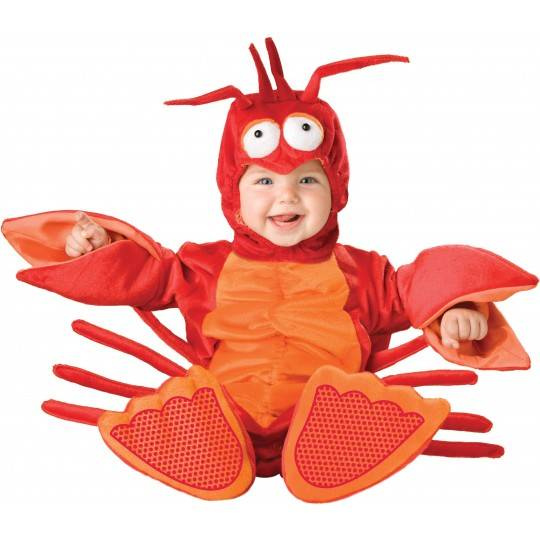 Incharacter Carnival Baby Costume Lil' Lobster 0-4 years