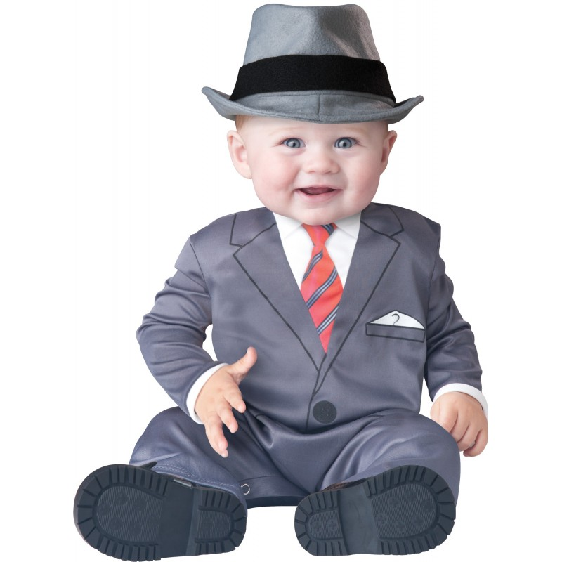 Incharacter Costume Carnevale Baby Business per Bambini 6 - 24M