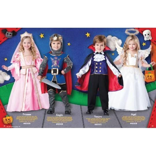 Costume Carnevale Angelo per bambina Incharacter 2-4 anni