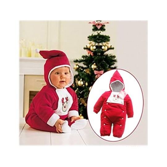 Barboteuse enfant Père Noël 80-100cm Na02