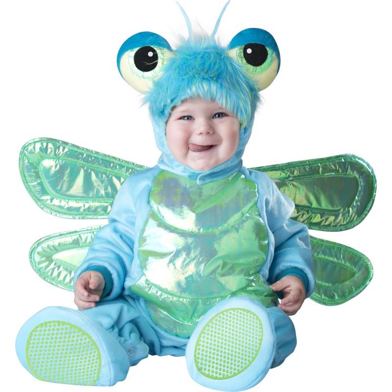 Costume Carnevale Libellula per bambino Incharacter 0-24 mesi