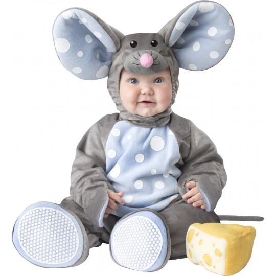 Costume Carnevale Topolino per bambino Incharacter 0-24 mesi