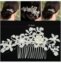 Barrette pour cheveux de cérémonie avec perles