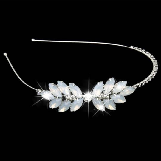 Girl beaded headband for ceremonies