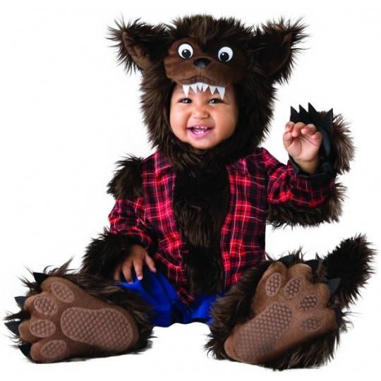 Costume Carnevale Lupo Mannaro per bambino Incharacter 6-24 mesi