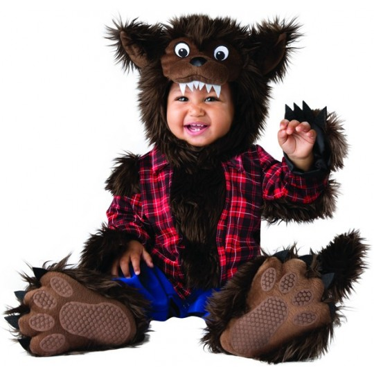 Incharacter Costume de Carnaval Enfant de Loup-garou 6-24 mois