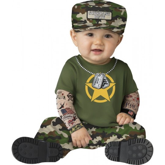 Incharacter Carnival Baby Costume Sergeant Duty 6-24 months