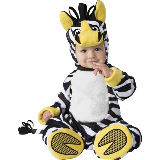 Incharacter Carnival Baby Costume Zany Zebra 6-24 months