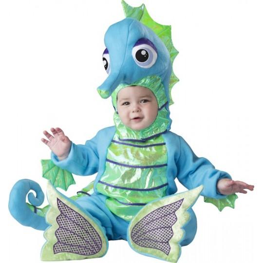 Costume Carnevale Cavalluccio Marino per bambino Incharacter 6-24 mesi