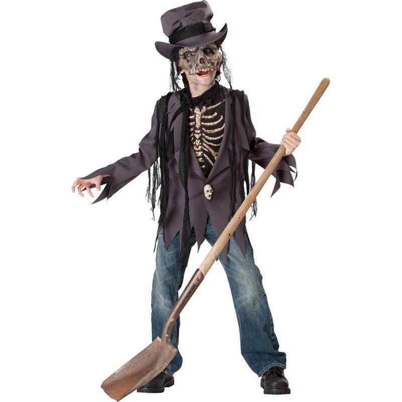 Costume Carnevale Halloween Profanatore tombe 5-12 anni