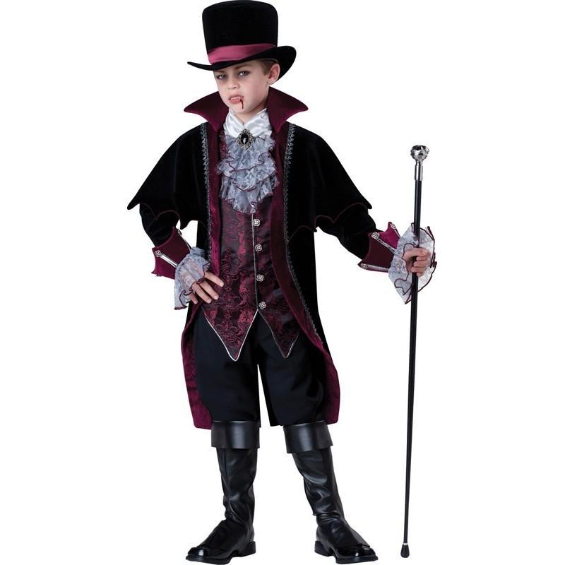 Incharacter Costume de Carnaval et Halloween Vampire de Versailles 5-16 ans