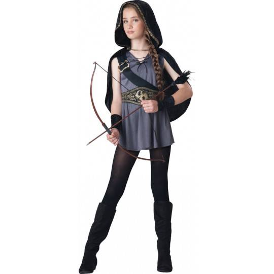 Costume Carnevale Incharacter Cacciatrice 8-14 anni