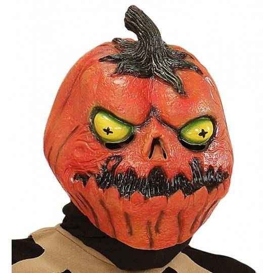 Pumpkin horror mask for kids
