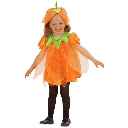Halloween pumpkin baby girl costume 1-3 years