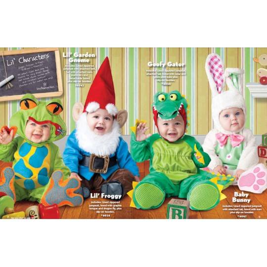 Incharacter Carnival Lil' Garden Gnome Costume 0-24 months