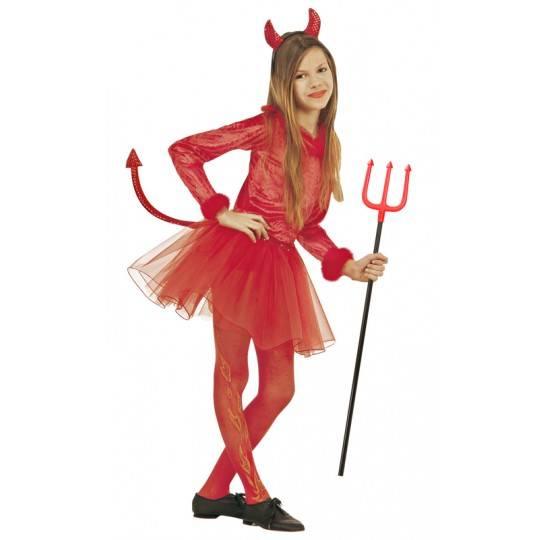 Costume Diavolessa 5-13 anni