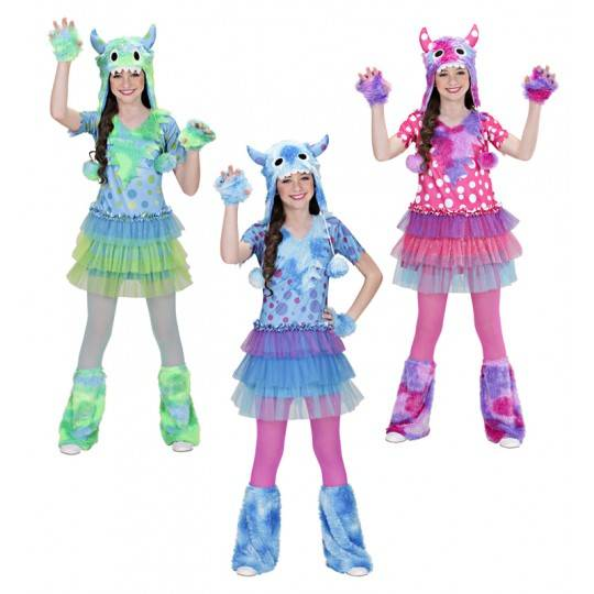 Costume de Monster Girl 3-7 ans