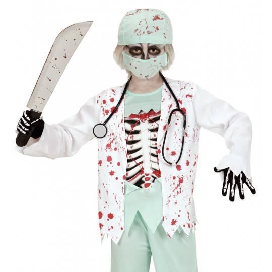 Costume docteur zombie 5-13 ans