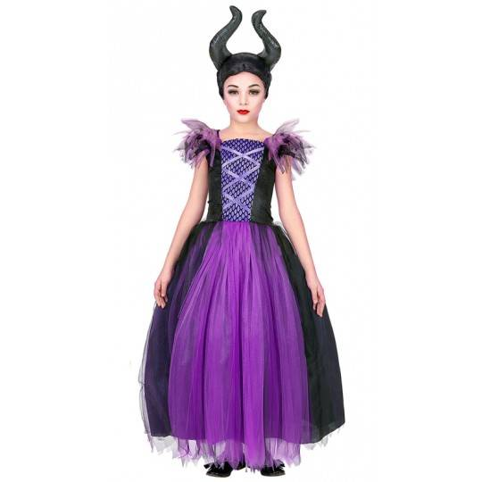 Maleficent costume 5-13 years