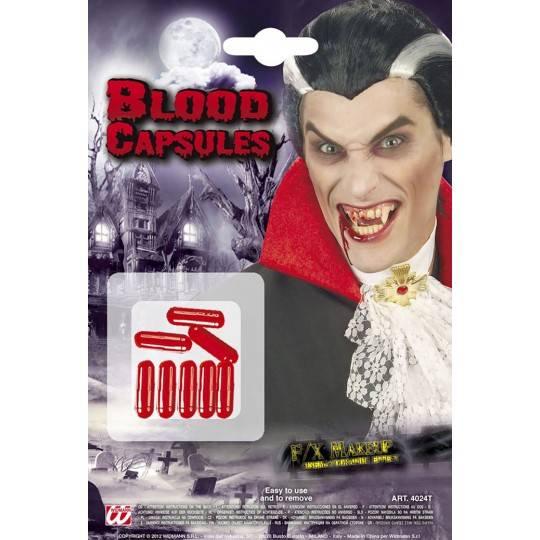Blood capsules 8 pcs set