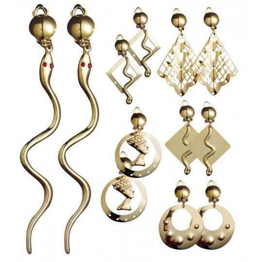Boucles d'oreille romains/égyptiens