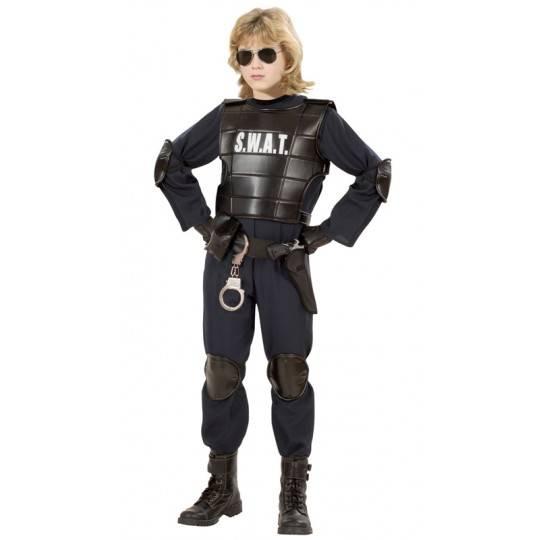 Costume agente S.W.A.T. 5-16 anni