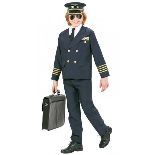 Costume de pilote 8-10 ans