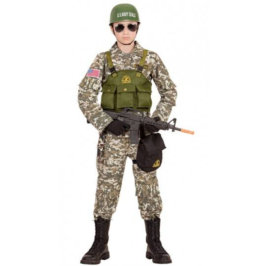 Navy Seal costume 8-13 years