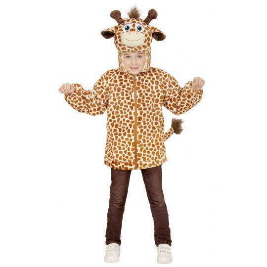 Plush giraffe costume 1-5 years