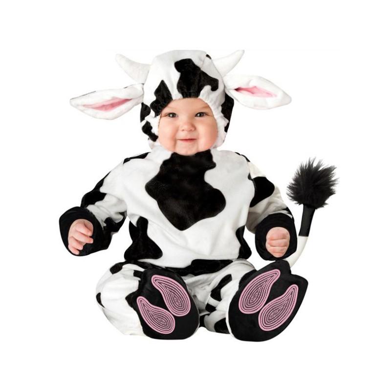 Costume de Carnaval Vache 3 ans