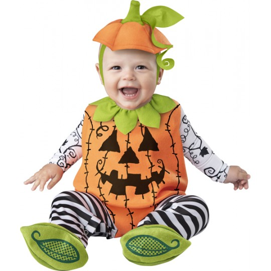 Incharacter Costume de Carnaval et Halloween Enfant Citrouille 0-24 mois