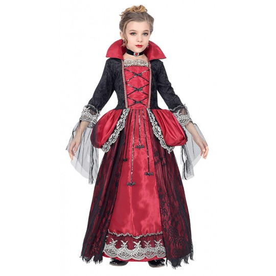 Lady Vampire costume 11-13 years