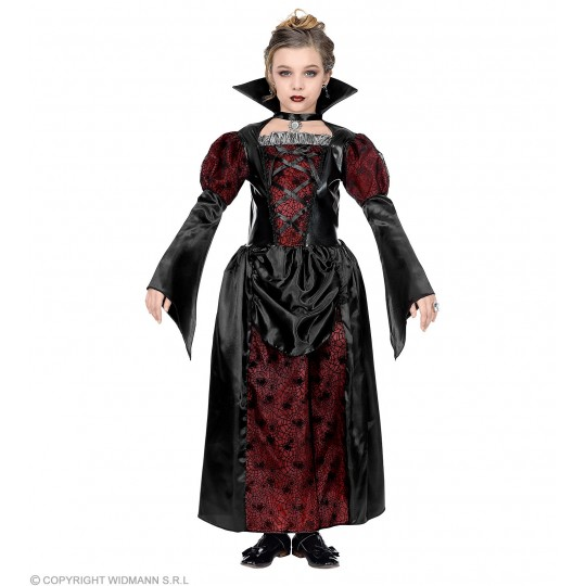 Lady Vampire Costume 5-13 years