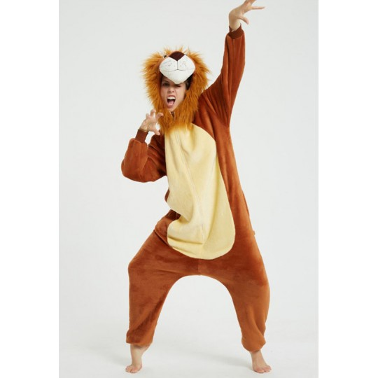 Lion Cosplay Costume Pyjamas for adults