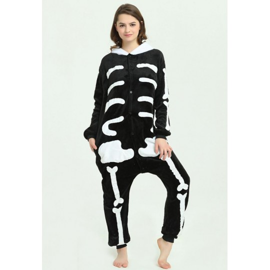 Skeleton Cosplay Costume Pyjamas for adults