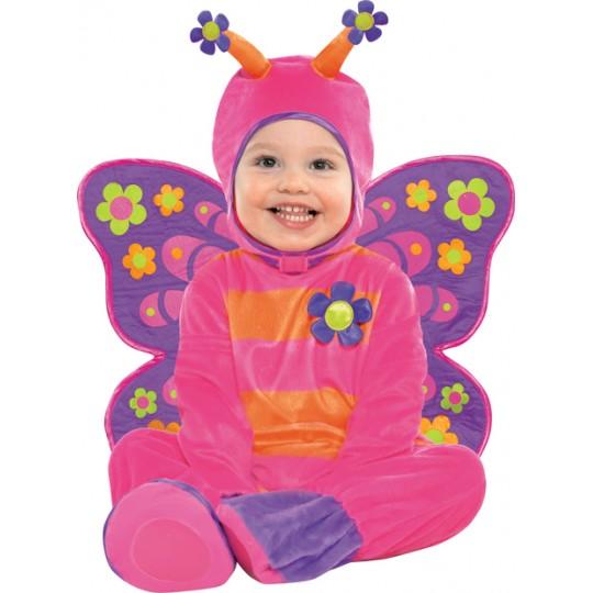 Costume de papillon 6-18 mois