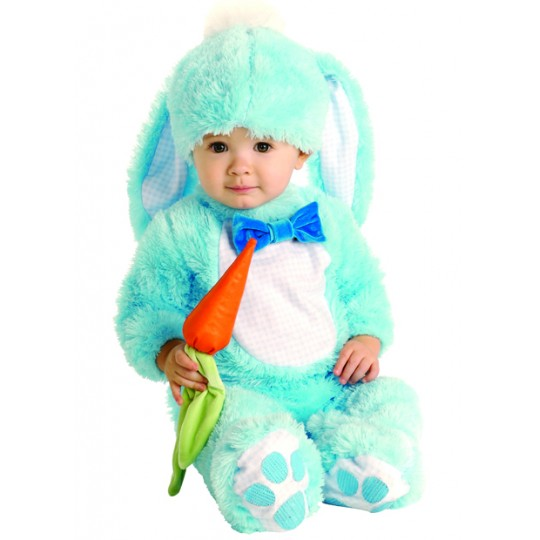 Baby Costume Blue Bunny Unisex 0-24 months