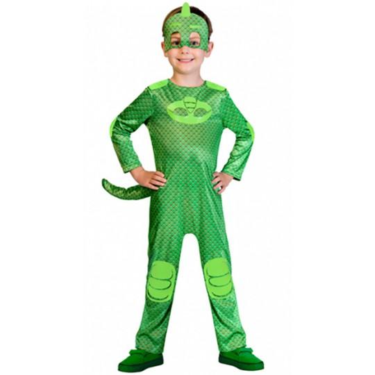 Costume de Geco PJ Masks 2-8 ans