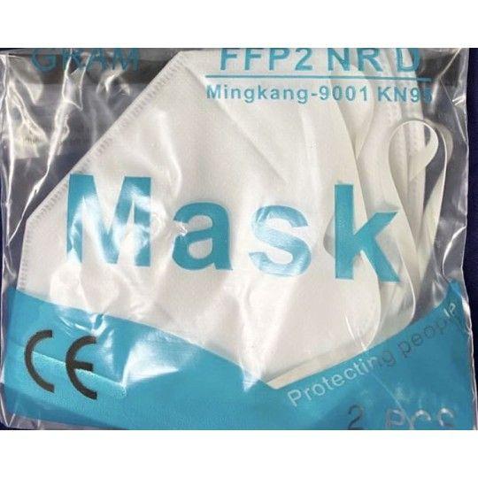 Masques FFP2 KN95 pack de 2 disponibles immédiatement