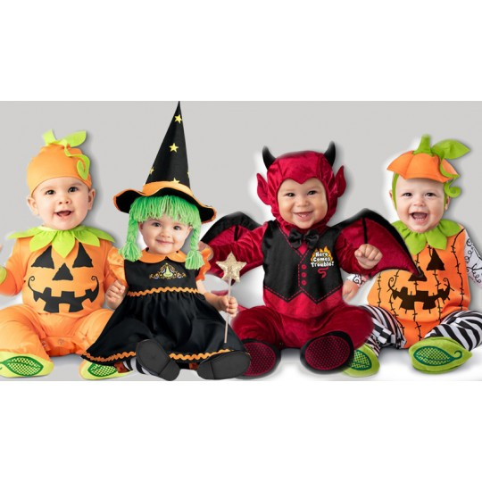 Incharacter Carnival Baby Costume Wee Witch 0-24 months
