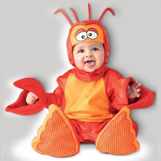 Costume Carnevale Aragosta Adorabile per Bimbi Incharacter 0-2 anni