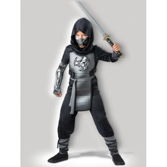 Costume Carnevale Halloween Incharacter Combat Ninja 5-12 anni