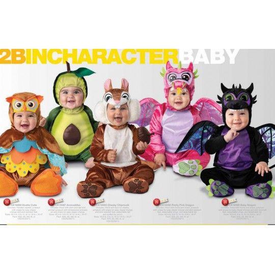 Incharacter Carnival Halloween Hootie Cutie Costume 0-24 months