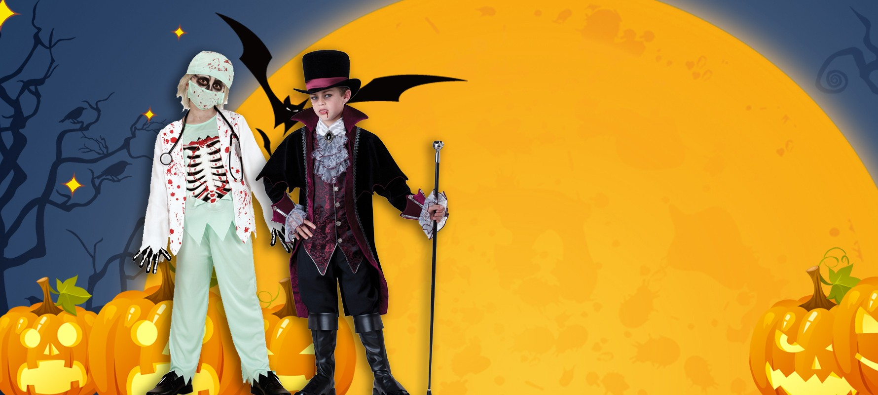 costumes de halloween enfants